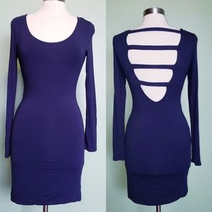 SOPRANO Navy Blue Dress
